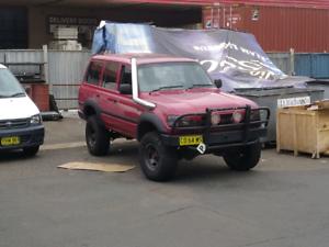 Toyota landcruiser 80 series 1hd-t