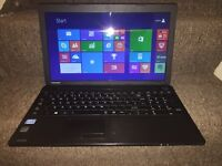 Toshiba Satellite C50 i3 processor 6GB RAM 1TB HDD Windows 8