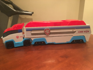 Paw Patrol Truck and Friends