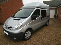 2 Berth Hi Top Camper Van Conversion 2014 Nissan Primastar for Sale