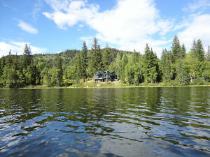 CARIBOO LAKEFRONT HOME - FOR SALE BELOW BANK APPRAISAL