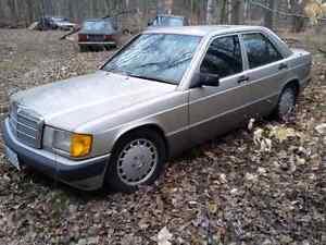 1990 Mercedes Benz 190e