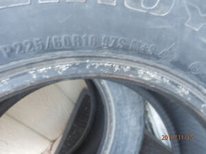ford rims size 17 inch as well as 16 inch winter tires Cornwall Ontario image 1