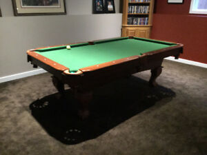 Pool Table $700.00 1 yr old Barely used.