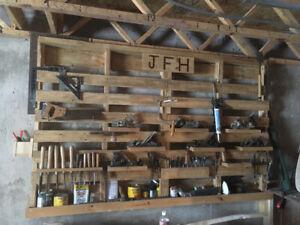 wall tool organizer