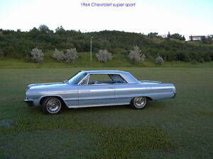 Family owned 1964 Chev Impala SS.