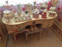 Furniture. Dressing table, wardrobe, tv unit, stand, French Louis.