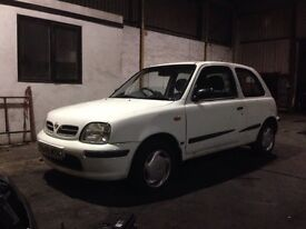 Nissan Micra BREAKING spares for repair 1.2 Auto