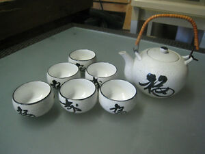 Unique Tea Pot and Mugs