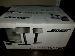 Brand New Bose Companion 5 Series