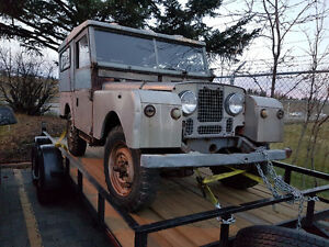 1954 LAND ROVER SERIES ONE (1) **VERY RARE**