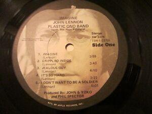 John lennon 1963 vinyl  lp Imagine, Cornwall Ontario image 2