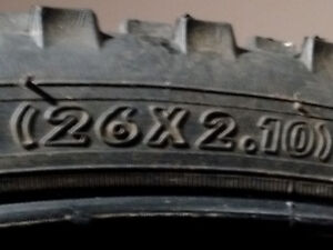 "26"" Mountain Bike Tire (26x2.10) only$10"