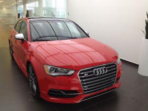 2016 Audi S3 Berline reprise de bail