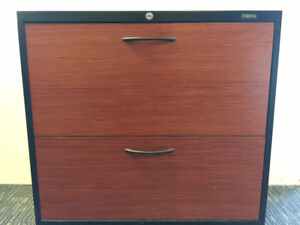 """Multiuse Storage/Filing Cabinet 2 Drawer  30"""" & 36""""  Wood front"""