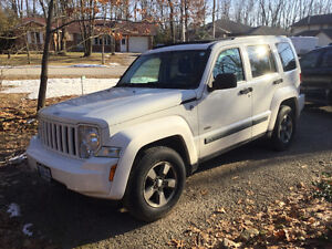 2008 Jeep Liberty North Edition 137000kms