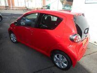 Toyota Aygo VVT-I GO (super red) 2012