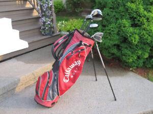 Men's Right Hand 12-pc Golf Clubs Set & Golf Stand Bag