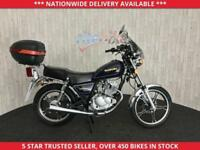 SUZUKI GN125 GN 125 MOT TILL APRIL 2019 LOW MILEAGE EXAMPLE 2012 12