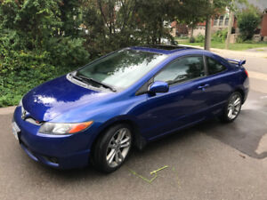 2008 Honda Civic Si 6-speed manual coupe