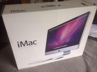 iMac 27 inch box £20