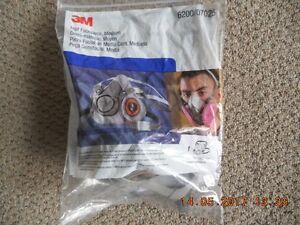 3M 6200 Half-Face Respirator - Medium