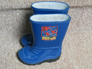 Spiderman Rubber Boots, Toddler Size 6