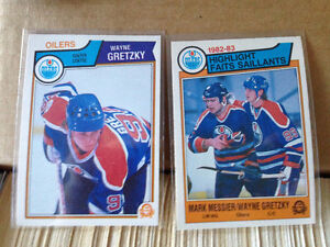 1983-1984 O Pee Chee Hockey complete set of 396 cards Gretzky!