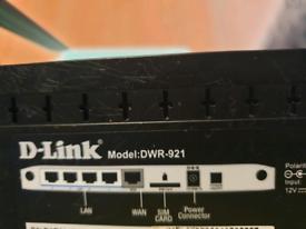 D-Link DWR-921/B 4G/3G LTE