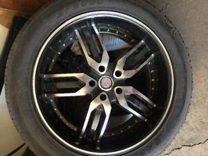 """22"""" tires & rims (5X127 - 5 bolt)"""