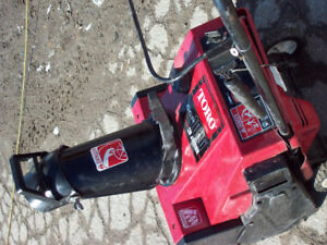 Used Toro Snow Blower / In Excellent Running Condition / Lindsay