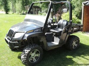 2009 arctic cat side by side