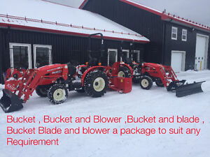 30 HP Compact tractor Snow Removal Packages from $271.36/month