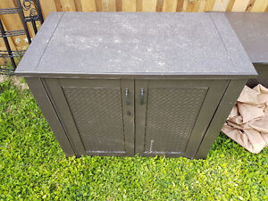 Large Double Door Deck Box