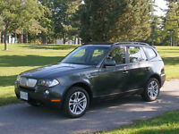 2007 BMW X3 3.0si SUV, Immaculate + Extras