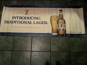 Beer banner Keth's beer great for bar