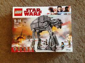 Lego Star Wars Heavy Walker 75189 New