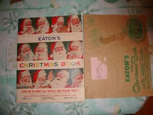 Eaton's Christmas Catalogue 1958