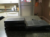TWO SHAW DIGITAL BOXES