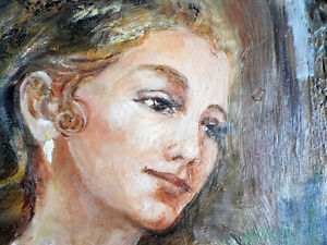 Beautiful Portrait Klimenko Oil on Canvas North Shore Greater Vancouver Area image 1