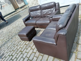🛋️🛋️3 +2 SEATER LEATHER 🛋️🛋️