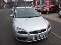 FORD FOCUS 1.6 climate 2008 Petrol Manual in Silver