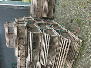 PEI style lobster traps
