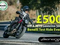 Benelli Leoncino 500cc Naked retro Motorcycle