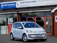 2013 13 VOLKSWAGEN UP 1.0 HIGH UP BLUEMOTION TECHNOLOGY 3DR *ONLY 5,000 MILES*