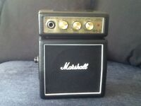 Marshall mini guitar amp ms-2