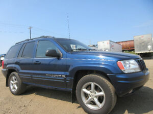 2000 JEEP GRAND CHEROKEER-LIMITED SPORT PKG-4X4-LEATHER-4.0L i6