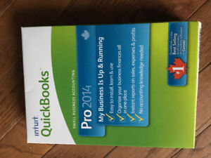 Quick Books Pro 2014 - never used software