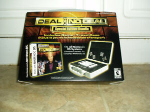 NINETENDO DS DEAL OR NO DEAL GAME & CASE NEW $10