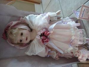 Brand new in box Sabrina large porcelain doll London Ontario image 2